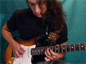 Hybrid picking soloing